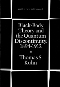 Black-Body Theory and the Quantum Discontinuity, 1894–1912