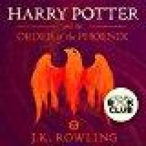 Harry Potter and the Order of Phoenix , Book 5 ( audible )