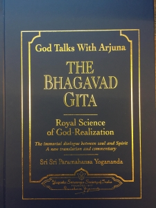 God talks with Arjuna The Bhagavad Gita Royal Science of God-Realization Volume I