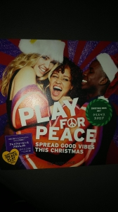 PLAY FOR PEACE CHRISTMAS BOOK 2017