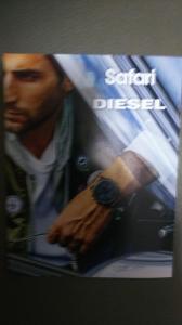 Safari × DIESEL