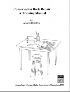 Conservation Book Repair: A training manual