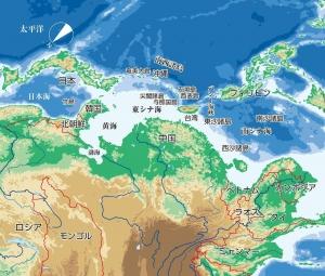 「逆さ地図」で見る、中国にとって邪魔な日本