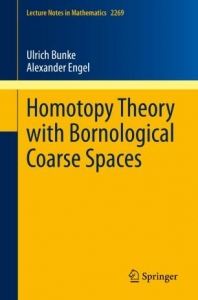 Homopy Theory with Bornological Coarse Spaces