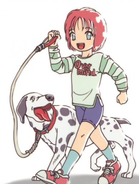少女は犬の夢を見る