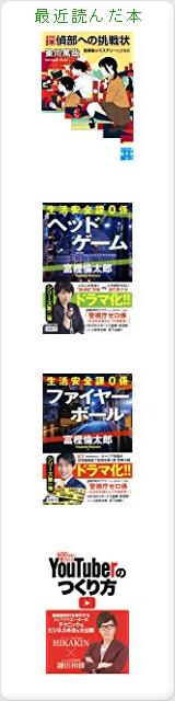 Minoru  Tsuchiyaの最近読んだ本