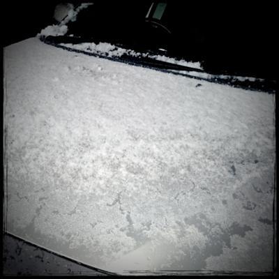今年も遂にやって来た... #初雪