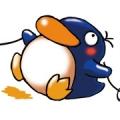 あくびペンギン