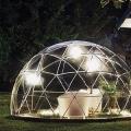 透明なテント